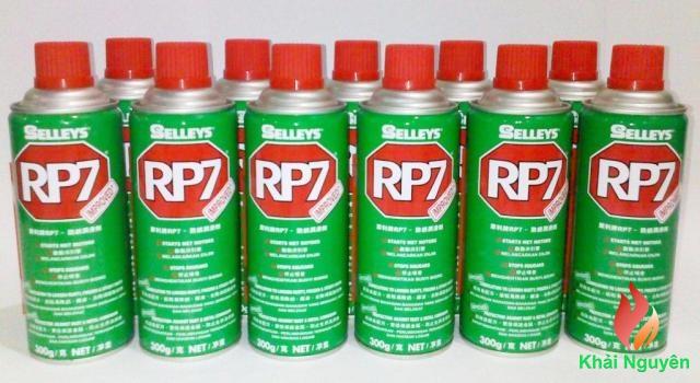 dầu chống rỉ sét và bôi trơn RP7