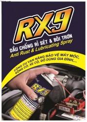Dầu chống rỉ sét và bôi trơn RX9